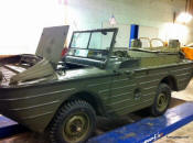 WWII Ford GPA Amphibious Jeep full