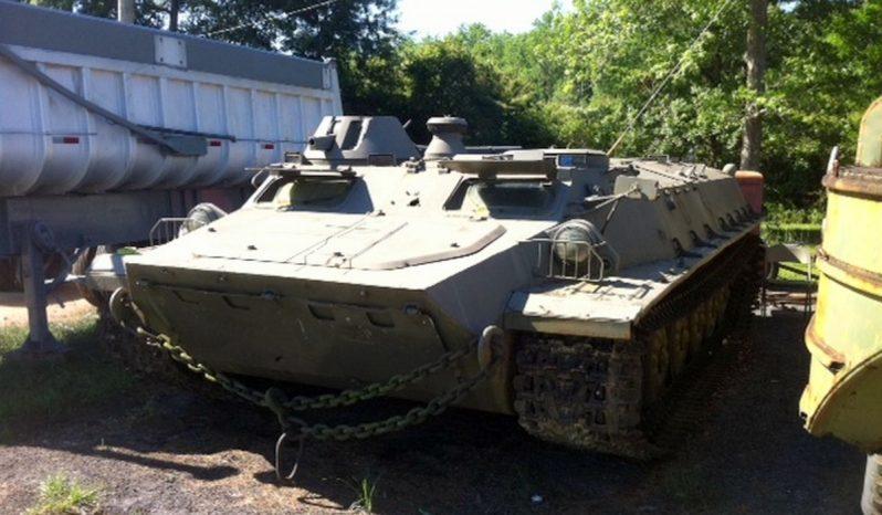 Russian MT-LB Multipurpose Armored Amphibious Vehicle full