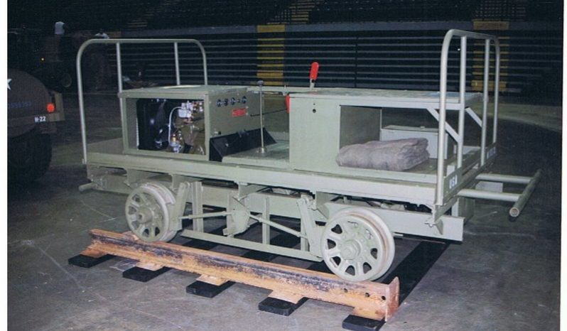 WWII 8-Man Railway Car full