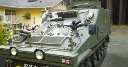 British CVRT Sultan Armored Command Vehicle