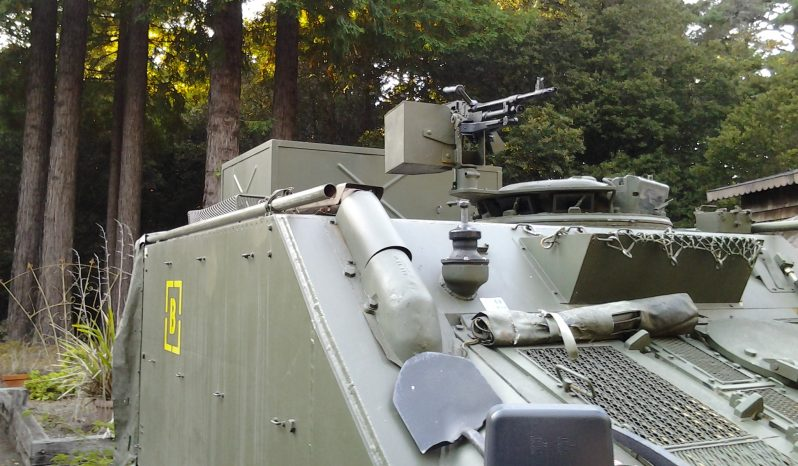 British CVRT Sultan Armored Command Vehicle full