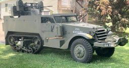 M16 Half Track with Quad Mount