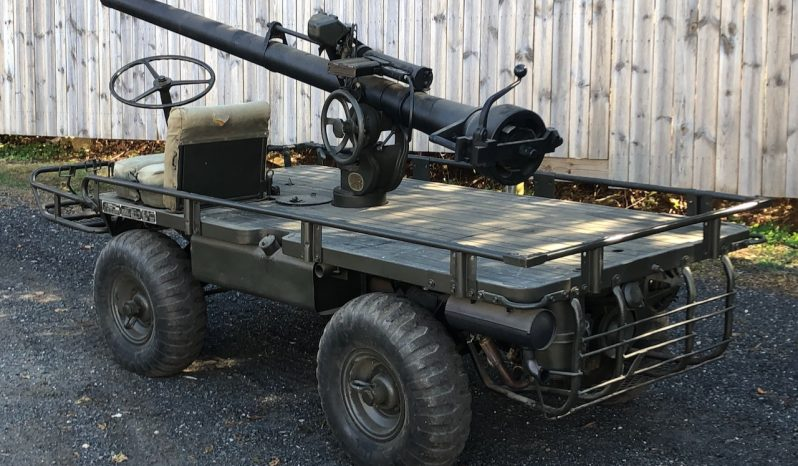 M274 Mule with mounted 106MM Recoilless Rifle full