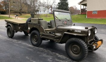 1952 M38 with Trailer
