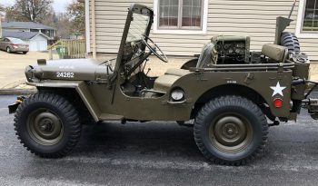 1952 M38 with Trailer full
