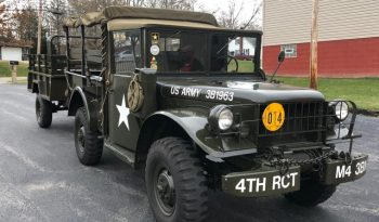 M37 with Trailer