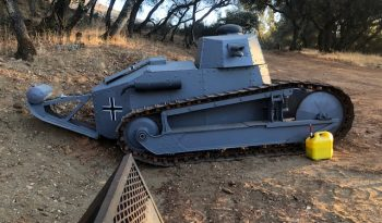 Replica WWI FT17 Light Tank full